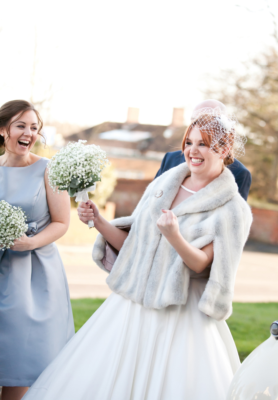 An Elegant \'Audrey Hepburn\', 50\'s Inspired Winter Wedding | Love My ...