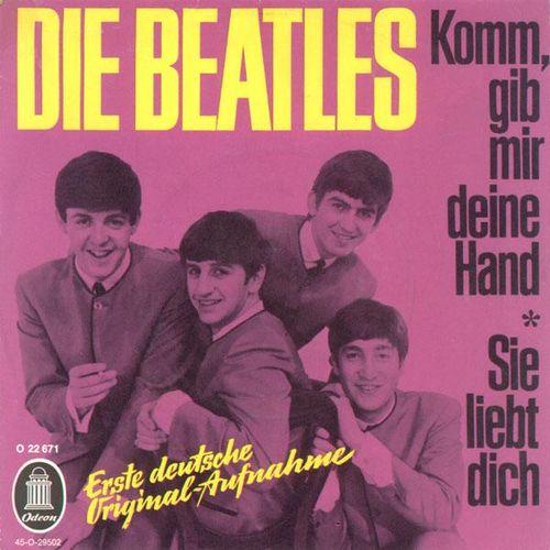 The Beatles - Komm, Gib Mir Deine Hand