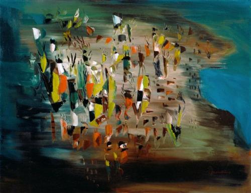 Borduas painting