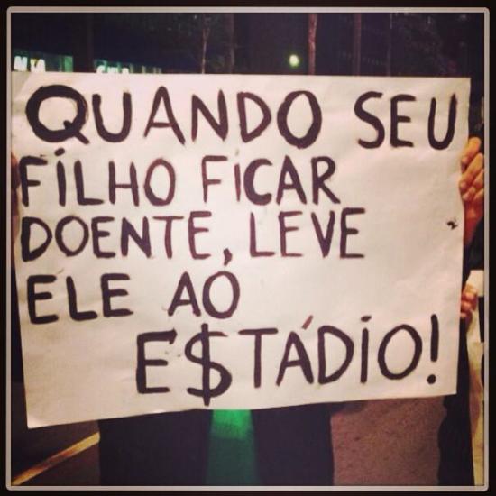 Protestas contra el Mundial (2)