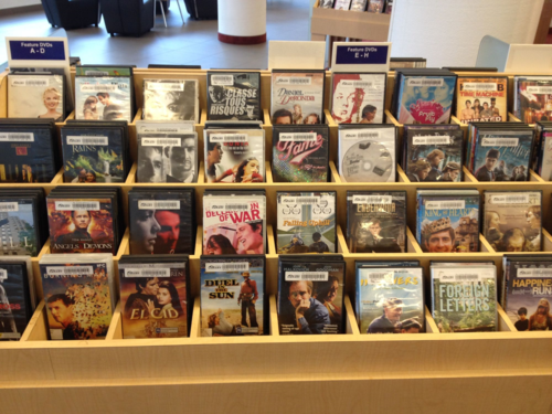 Browsery feature DVDs