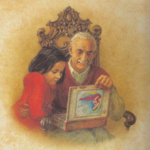 MatchBox Diary Grandpa and Granddaughter