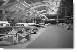 Automotive Building, Interior, 1954