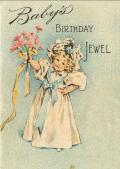 Baby's birthday jewel, 1896