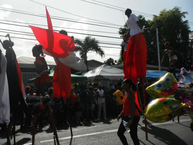 Jumbies at Mas T&T Carnival 2013