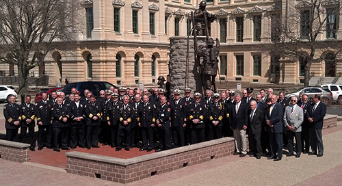 Illinois fire service officials