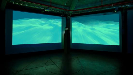 Polizone. Un mar digital. Foto Maku López