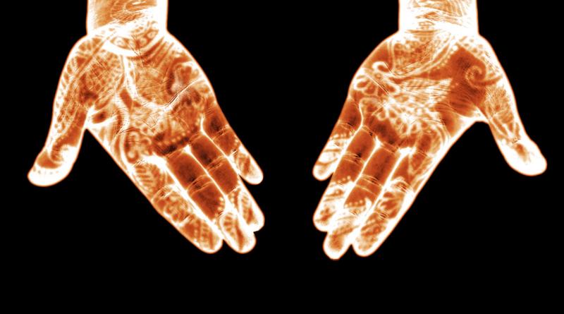 Henna Hands by Robert Benner Sr