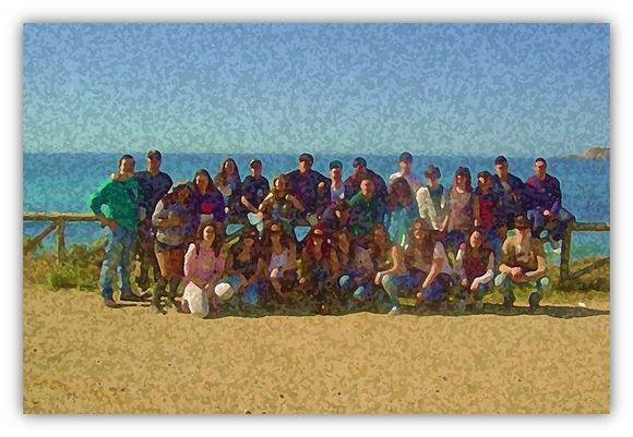 Estudiantes de 2º de Bachillerato del IES 'Alpajés' de Aranjuez