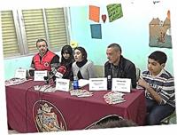 Acudieron a los medios de comunicación para difundir el proyecto: dos ruedas de prensa y cuatro entrevistas en  radio y televisión