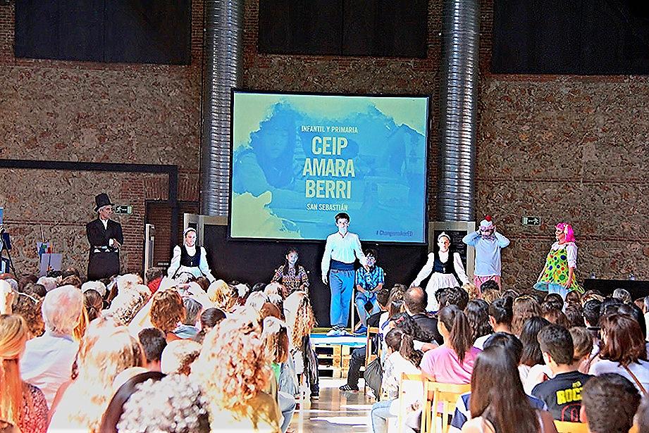El Colegio Público 'Amara Berri' en la presentación de las primeras Escuelas Changemaker en España. 10 de mayo 2015. Foto: Ashoka España. IMG_5594.