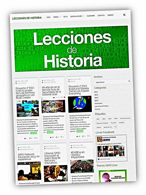 Blog de Geografía e Historia de la profesora Rosa Liarte Alcaine