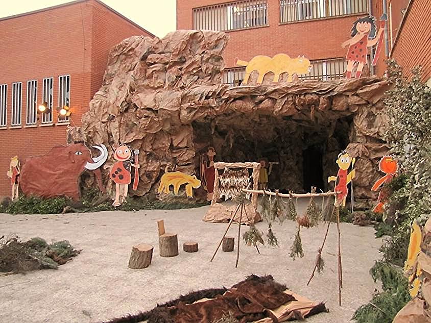 La entrada al colegio en la edición de 'Una Noche Mágica' en el 2013