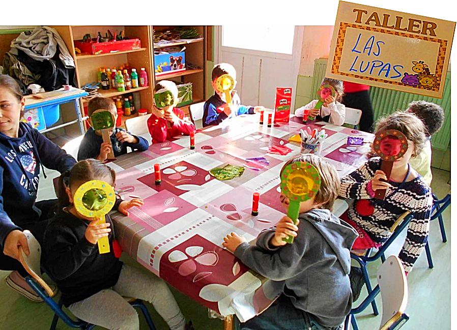 Taller de lupas del alumnado de Educación Infantil del CEIP 'La Rioja' | CEIP 'La Rioja