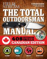 The total outdoorsman manual- 408 survival skills