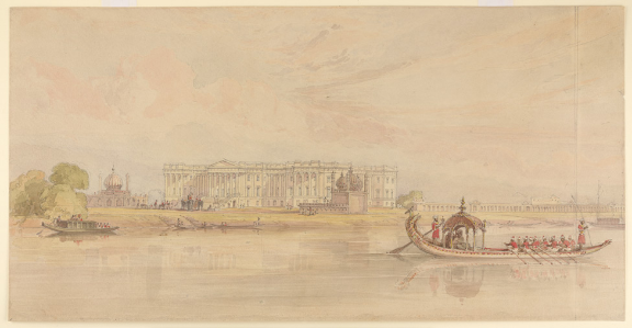 BL WD4032 Murshidabad new palace William Prinsep 1830s - Copy(2)
