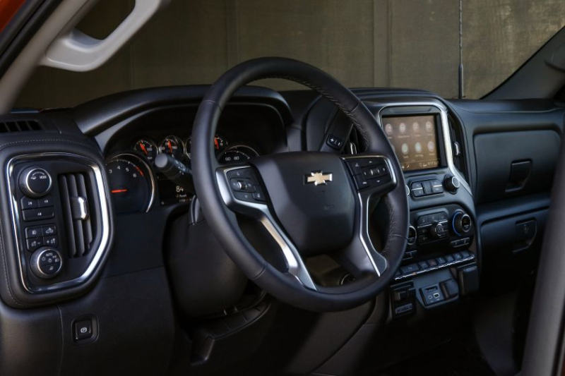 2020 Chevrolet Silverado 2500 Steering Wheel
