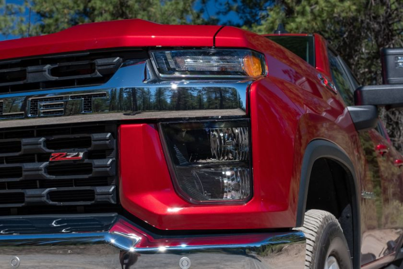2020 Chevrolet Silverado 2500 Front Headlights