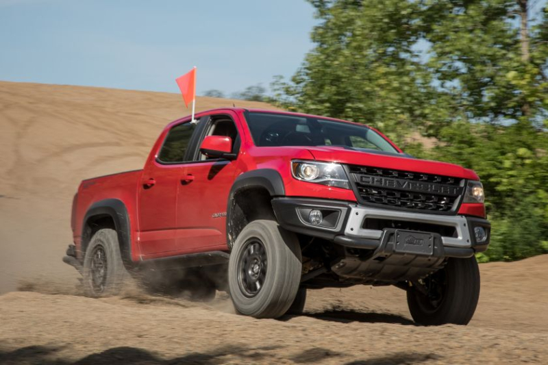 2019 Chevrolet Colorado ZR2 Bison In Sand