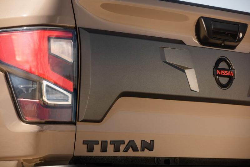 2020 Nissan Titan Tailgate Badge