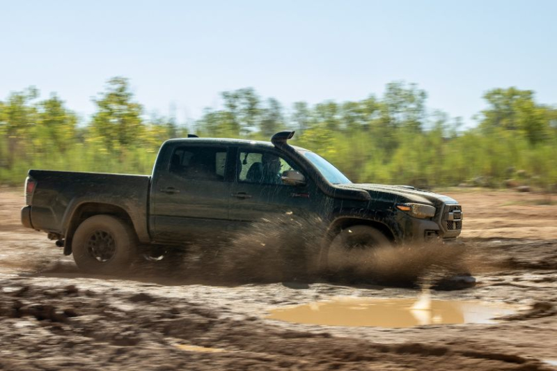2020 Toyota Tacoma TRD Pro Fording Water