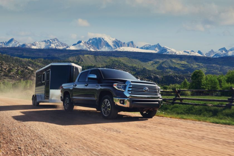 2020 Toyota Tundra Towing Trailer