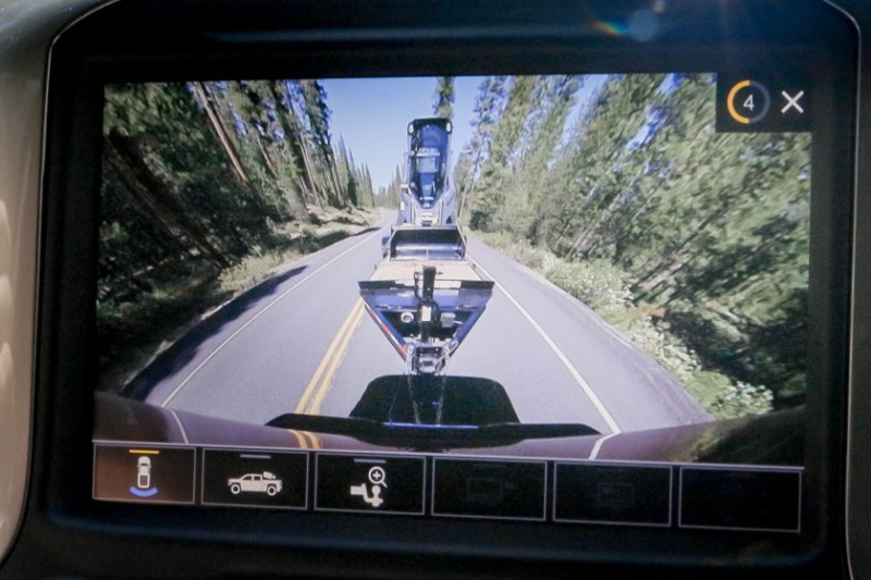 2020 Chevrolet Silverado 2500 Camera View of Hitch