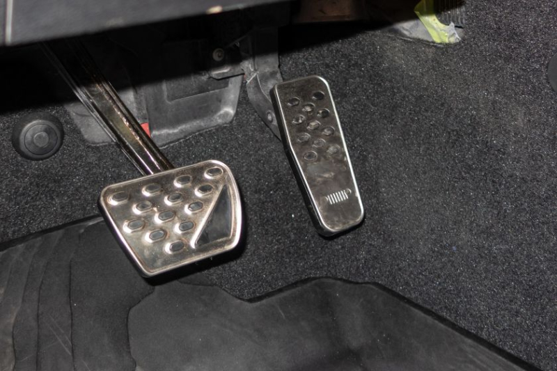 Jeep J6 Concept Accelerator And Brake Pedals