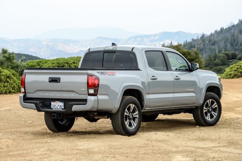 2019 Toyota Tacoma TRD Sport Rear Profile
