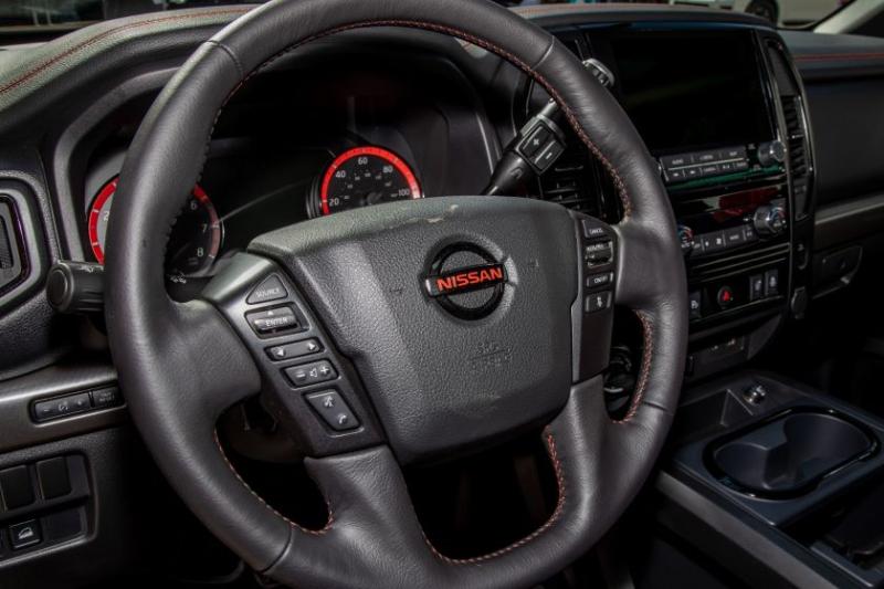 2020 Nissan Titan Pro-4X Steering Wheel