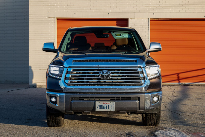2020 Toyota Tundra 1794 Edition Front Profile With Chrome Grille