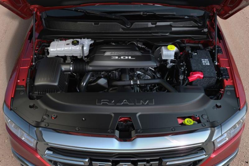 2020 Ram 1500 EcoDiesel 3.0-Liter Engine