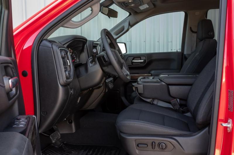 2020 Chevrolet Silverado 1500 Diesel Front Row Interior