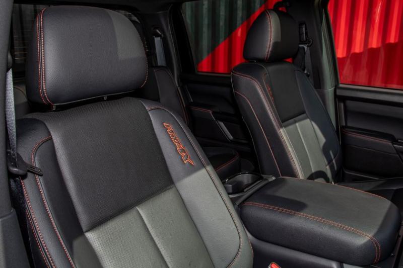 2020 Nissan Titan Pro-4X Front Seats