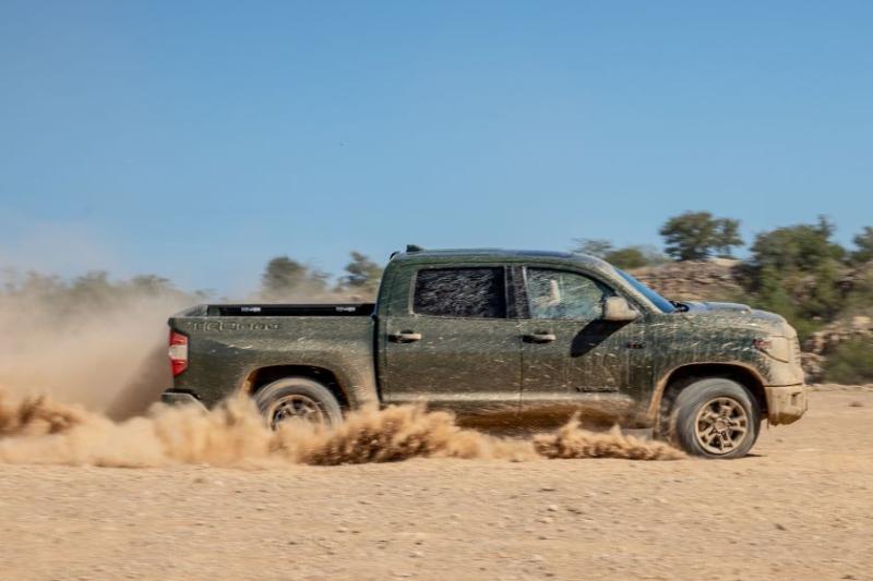 2020 Toyota Tundra TRD Pro Dirt Running