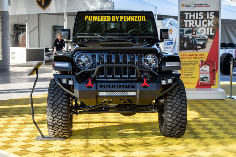 Jeep Gladiator Hennessey Maximus 1000 Front View