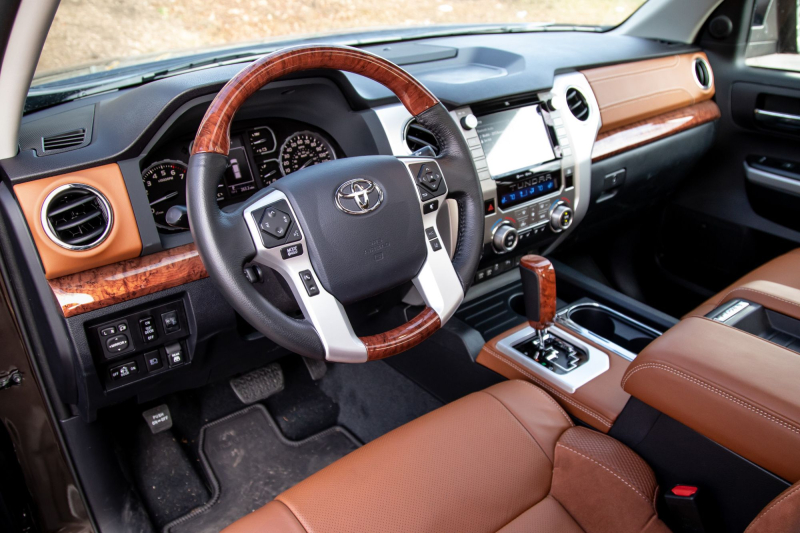 2020 Toyota Tundra 1794 Edition Front Row Interior
