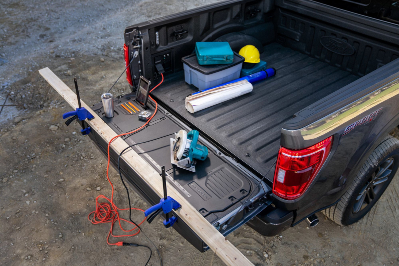 2021 Ford F-150 With Open Bed And Power Tools
