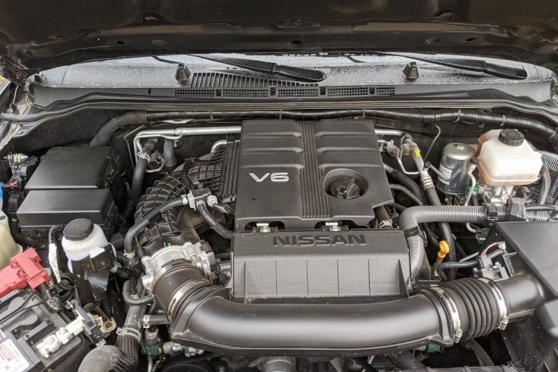 2020 Nissan Frontier V-6 Engine