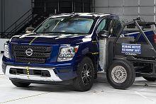 Nissan Titan Slips in Crash-Test Results