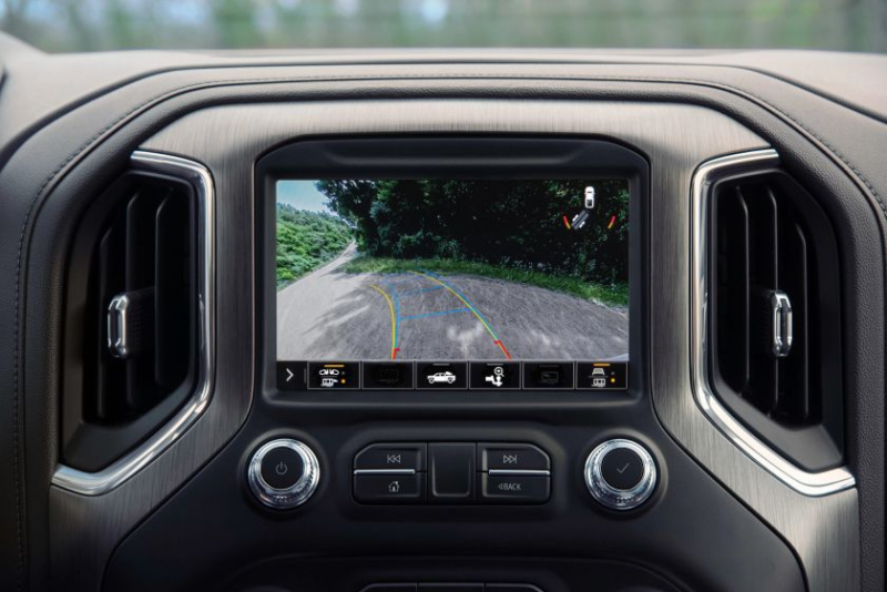 2021 GMC Sierra Rear Trailer View