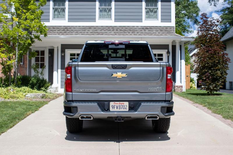 2021 Chevrolet Silverado 1500 Multi-Flex Tailgate Closed