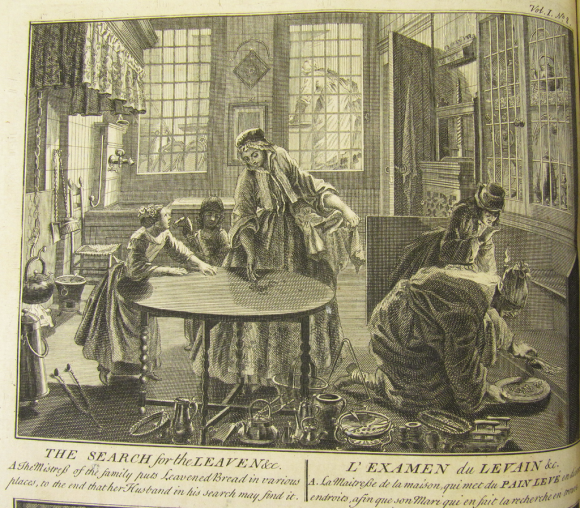 The Ceremonies and Religious Customs of the Various Nations. Published in 1733 by Jean Frédéric Bernard with etchings by Bernard Picart. It was reprinted several more times during the 18th century, and translated into 5 languages. This image is from the 1733 London edition (British Library 878.l.2)