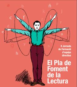 Plan de fomento de la lectura, cartel de Paco Salabert, profesor en la Escuela Superior de Arte y Diseño de Valencia
