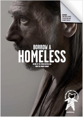 Toma prestado un  homeless