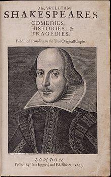 William Shakespeares First Folio