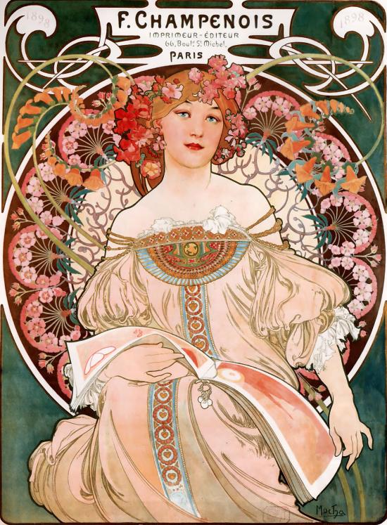 F. Champenois, de Alfons Mucha