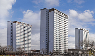 Kawneer systems help a hat-trick of high rises