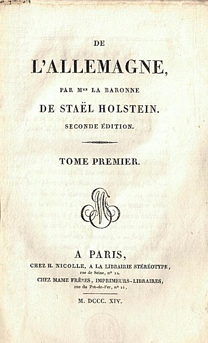 MadameDeStaelAllemagne