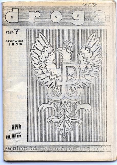 Solidarity Droga - Wolnosci i Niepodleglosc, Sol. 737